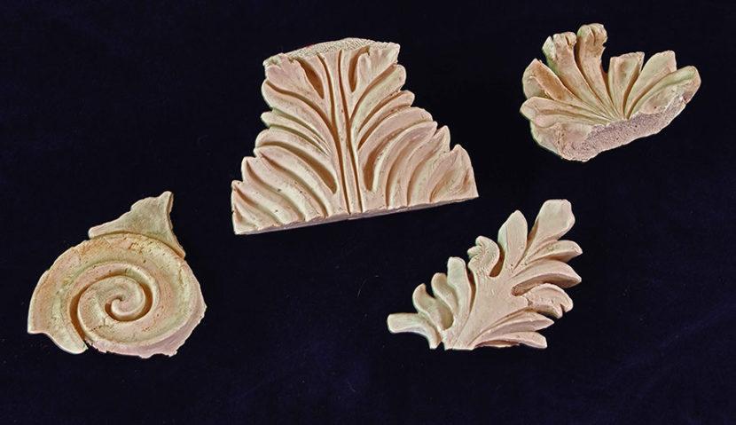 ACHANTUS 2,2017, pasta di marmo, misure varie